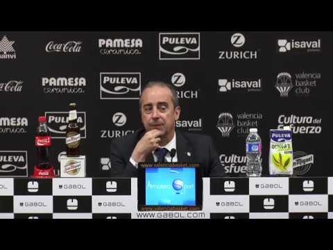 Txus Vidorreta pos J32 Liga Endesa vs Movistar Estudiantes