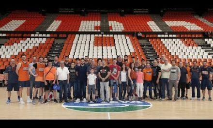 Los ganadores de Endesa viven un entrenamiento en la Fonteta