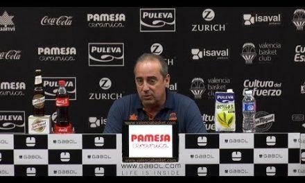 Txus Vidorreta pre J33 Liga Endesa vs FCB Lassa