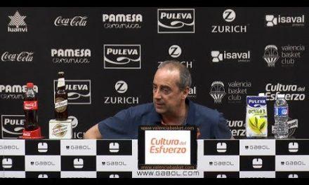 Txus Vidorreta pre J34 Liga Endesa en Morabanc Andorra