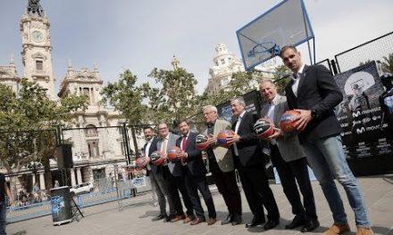 Presentación del Movistar Street Basket Tour