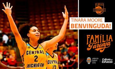 Tinara Moore se une al proyecto de Valencia Basket