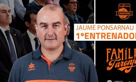 Jaume Ponsarnau, nuevo entrenador principal de Valencia Basket