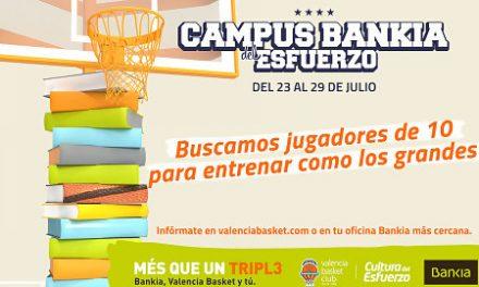 Disponibles los trípticos para la 4ª edición del Campus Bankia del Esfuerzo