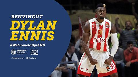 MoraBanc Andorra anuncia el fichaje de Dylan Ennis para la próxima temporada