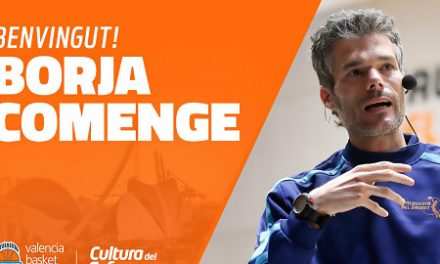 Borja Comenge se incorpora al Valencia Basket como segundo entrenador