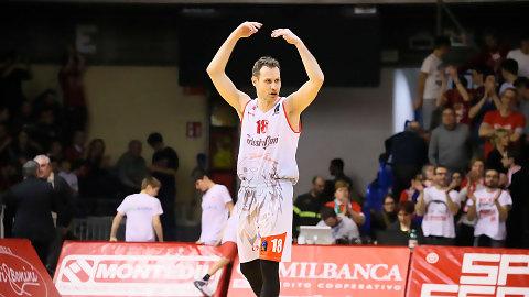 Pedro Llompart renueva una temporada con el Grissin Reggio Emilia