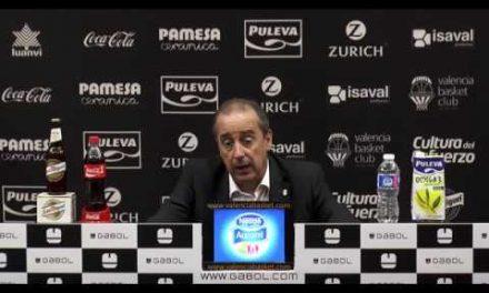 Txus Vidorreta pos Playoff Cuartos P3 vs Herbalife Gran Canaria