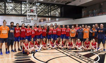 La Escuela de Tecnificación Femenina del Valencia BC, éxito en su I edición