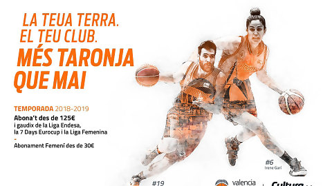 Últimos días de renovación preferente del abono 18-19 de Valencia Basket