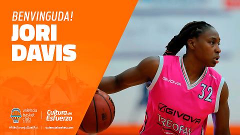 Jori Davis cierra la plantilla de Valencia Basket
