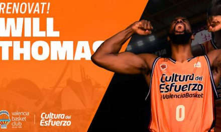 Will Thomas seguirá defendiendo la elástica taronja