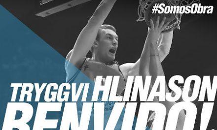 Tryggvi Hlinason jugará en el Monbus Obradoiro la próxima temporada