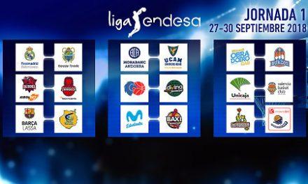 Así será la Liga Endesa 2018-19