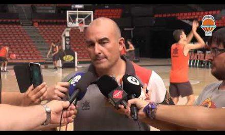 Primer entrenamiento del València Basket 18-19