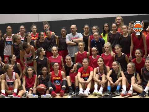 Encuentro Alqueria y Selección Española