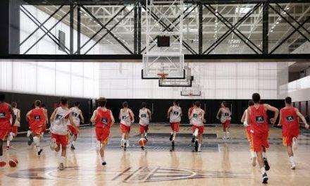 La Selección Española Sub 14 entrena en L'Alqueria del Basket