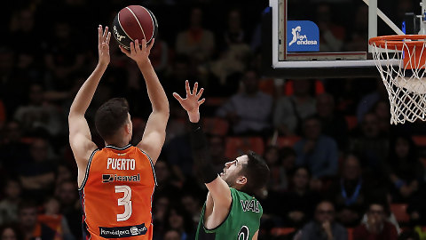 Valencia Basket cede a Josep Puerto al Liberbank Oviedo CB