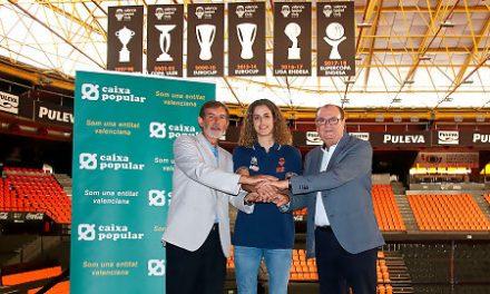 Caixa Popular amplía su apoyo también al femenino del Valencia Basket