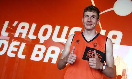 El pívot eslovaco Tomas Pavelka llega a Valencia Basket