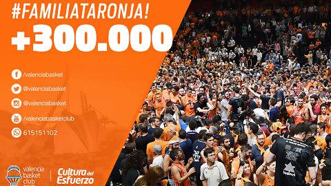 La #FamiliaTaronja supera los 300.000 usuarios en redes sociales