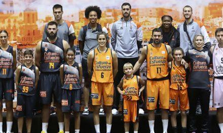 Valencia BC y Luanvi presentan las equipaciones para la Temporada 2018-19