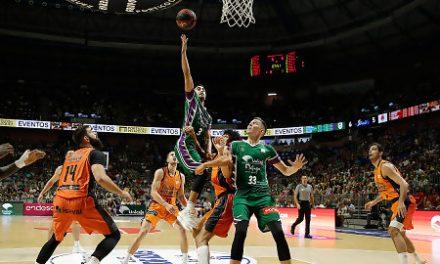 Unicaja convence en su estreno contra Valencia Basket (86-73)