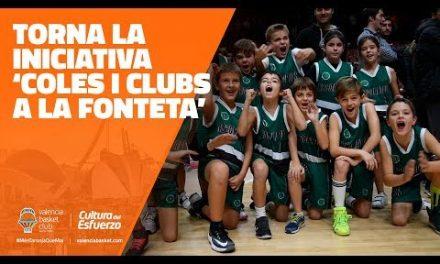 Vuelve la iniciativa 'Coles y Clubs a la Fonteta'