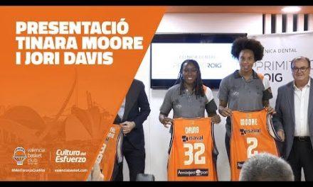 ¡Presentación Tinara Moore y Jori Davis