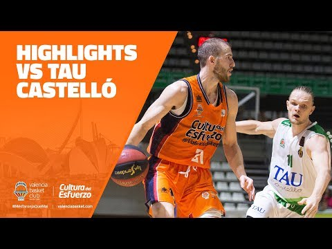 Highlights Pretemporada vs TAU Castelló