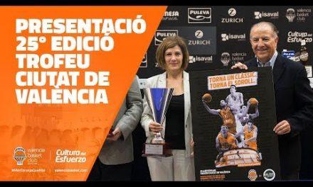 Presentación 25º Trofeo Ciutat de València