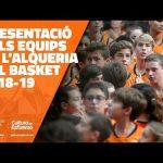 Presentación de los equipos de L'Alqueria del Basket 2018-19