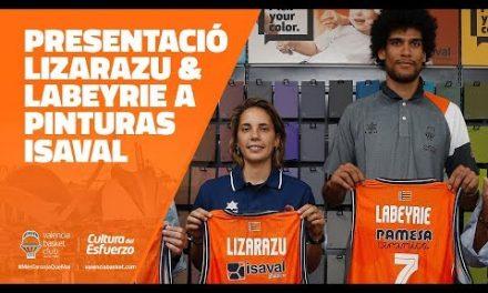 Presentación de Labeyrie y Lizarazu en Pinturas Isaval