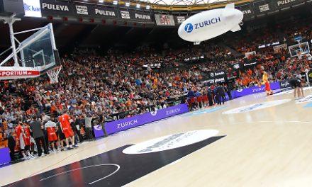 Zurich pone la animación en el Valencia Basket – Barça Lassa