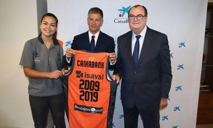 CaixaBank amplía su apoyo al Valencia Basket