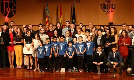 Valencia Basket premiado en Premios al Mérito Deportivo Ciudad de Valencia