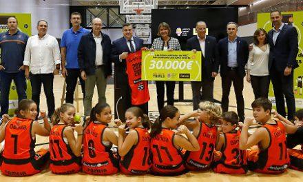 """Valencia Basket y Bankia renuevan por 5ª temporada """"Més que un triple"""""""