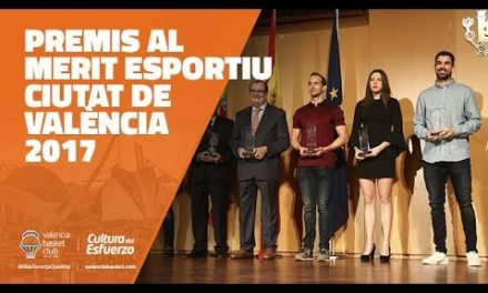 Premios al Mérito Deportivo Ciudad de Valencia 2017