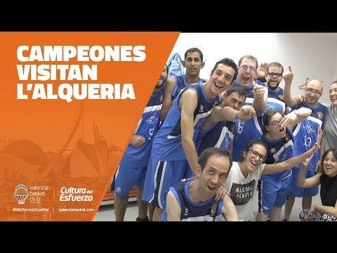 Campeones Visitan L'Alqueria