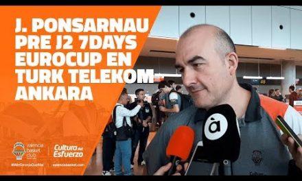 Ponsarnau pre J2 Eurocup en Turk Telekom Ankara