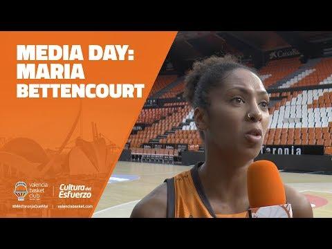 Declaraciones Media Day María Bettencourt