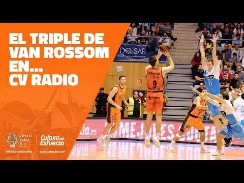 El triple de Van Rossom en… CV Radio