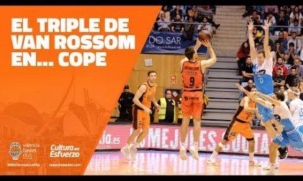El triple de Van Rossom en… COPE