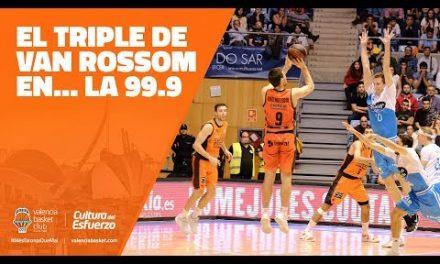 El triple de Van Rossom en… 99.9 radio