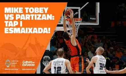Tapón y mate Mike Tobey J3 7DAYS Eurocup vs Partizan