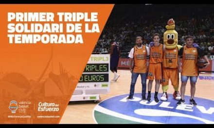 Primer Triple Solidario Bankia de la temporada en J5 Liga Endesa