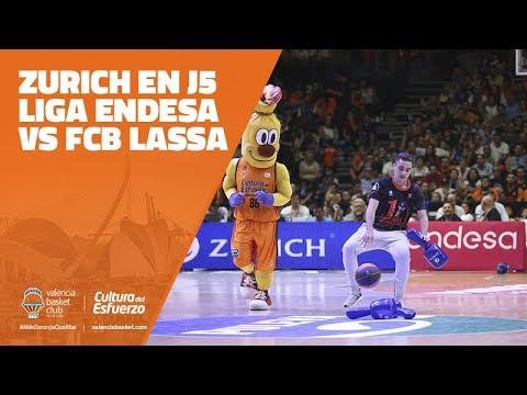 Zurich en J5 Liga Endesa vs FCB Lassa