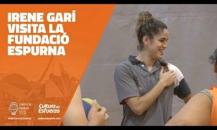 Irene Garí visita la asociación Espurna