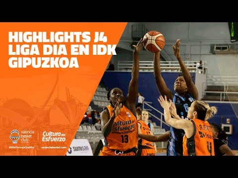 Highlights J4 Liga Dia en IDK Gipuzkoa