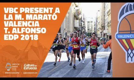 VBC present a la M. Marató Valencia 2018